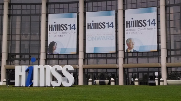 HIMSS14 Conference Hall