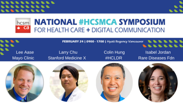 Announcement for National #hcsmca Symposium